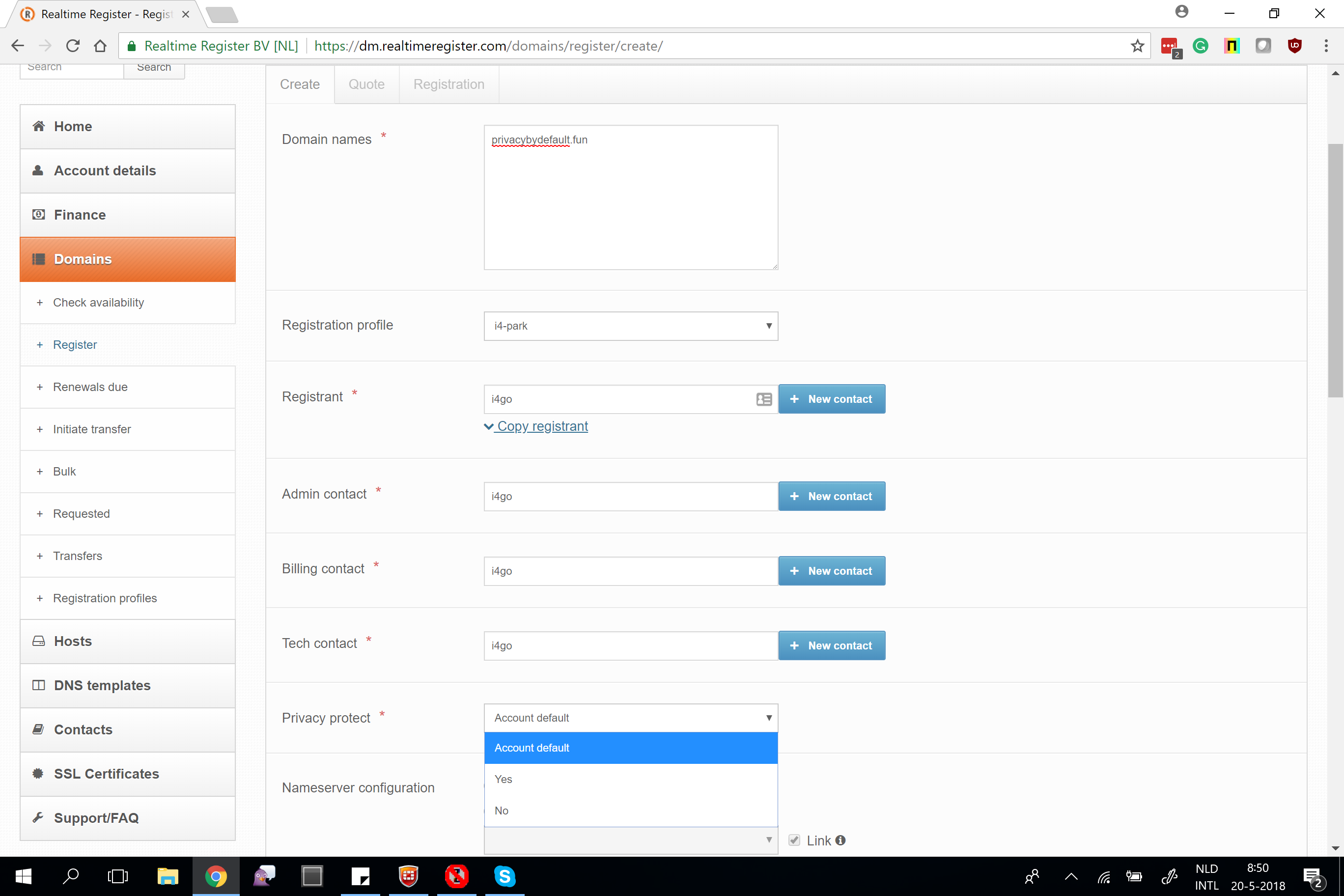 Realtime Register Blog
